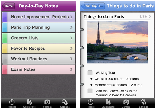 onenote OneNote lands on the iPhone as the Office team bows before iOS