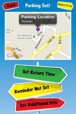 photo 1 260x390 Parking Aid for iPhone: No lost cars, no parking tickets