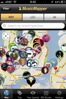 photo31 260x390 MusicMapper App is for music loving, geo location fanatics