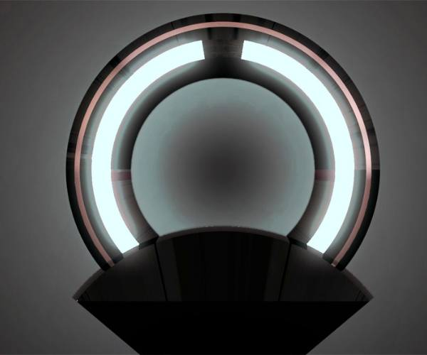 ring04r Does Want: The Tron inspired Ring lamp