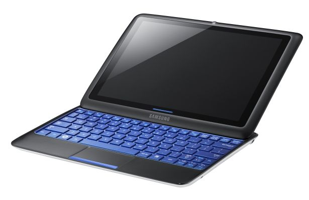 samsung tx100 tablet notebook hybrid 0 CES 2011: Tons of tablets. Only one Xoom.