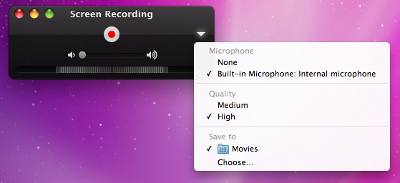 step 3 How to record quick, easy screencast videos with Mac OSX