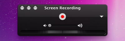How to take screen video on mac