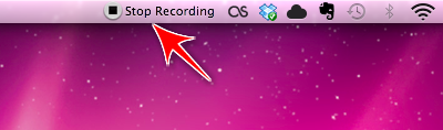 step 5 How to record quick, easy screencast videos with Mac OSX