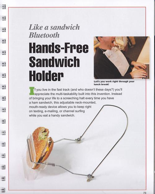 tumblr le57n7WPV01qa5z1ro1 500 Best Blogger Gadget: The Hands Free Sandwich Holder