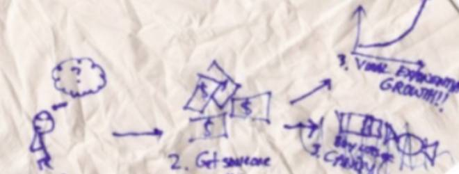 Groupon's original business plan, written on a napkin