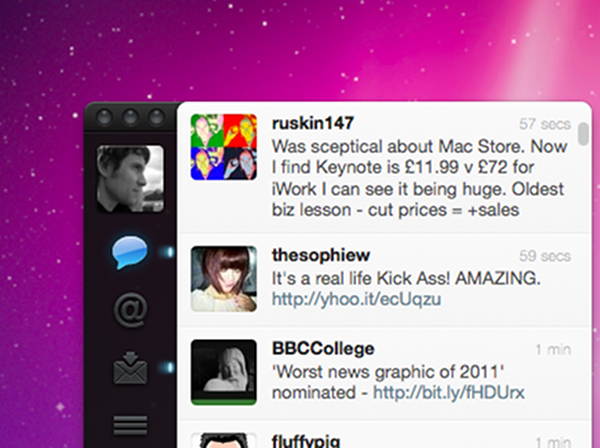 Twitter for mac is here the first official app to get real time tweets publicscrutiny Choice Image