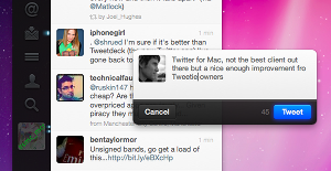 twitter for mac 2 Twitter for Mac is here, the first official app to get real time tweets