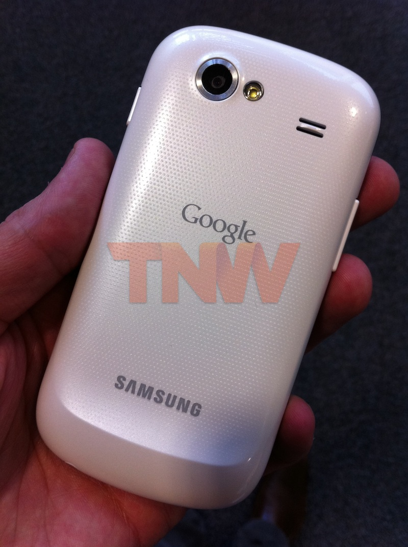 White Nexus S Spotted In The Wild, Vodafone Bound?