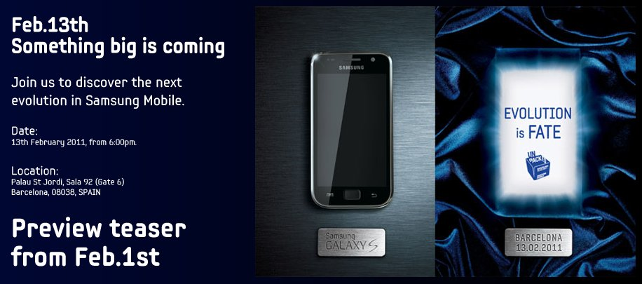Samsung teases its next flagship smartphone, will be unveiled February 13
