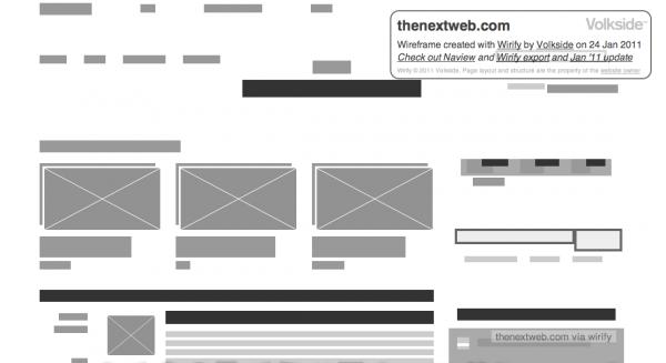 wirift TNW 600x327 Turn websites into wireframes with Wirify
