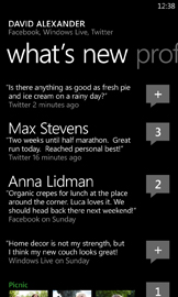02 14MWC PeopleHub Twitter web Every upcoming Windows Phone 7 feature from the MWC in pictures