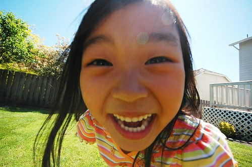 Japanese invention that forces children to smile
