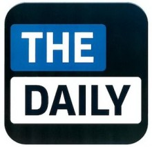 100815 the daily icon 220x213 The Daily iPad newspaper will reportedly launch on Android this spring