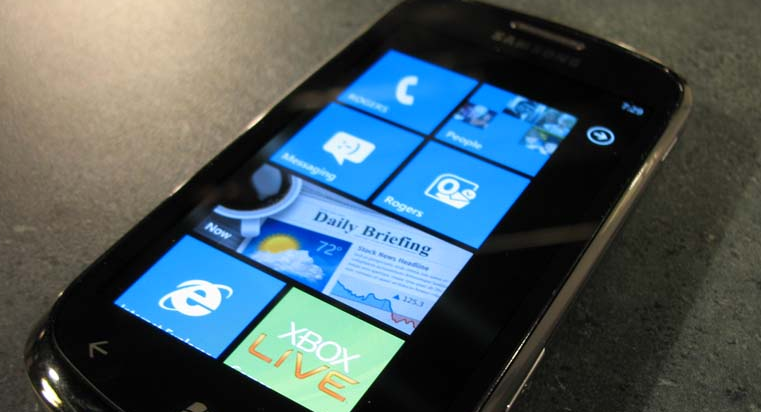 Consumer interest in Windows Phone 7 appears to be slipping