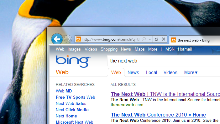 Bing: Now more personal and local