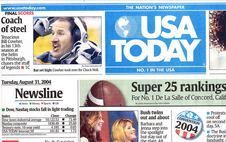 Microsoft Tags coming to the USA Today print edition