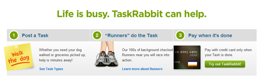 34 TaskRabbit makes outsourcing your personal tasks a breeze.