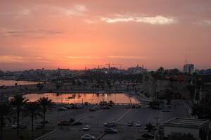 Sunrise in Tripoli Libya