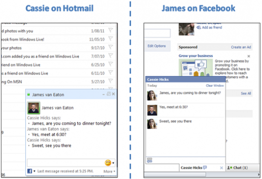7181.Facebook chat now available in Hotmail thumb 7D43D7AE 520x356 Facebook Chat integration in Hotmail now live worldwide