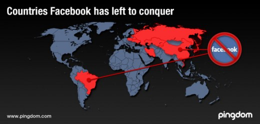 Countries Facebook has left to conquer 520x248 Facebooks counterparts from around the world