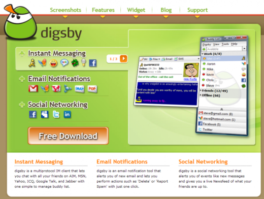 Digsby 610x4611 520x392 5 great ways to work better using Facebook