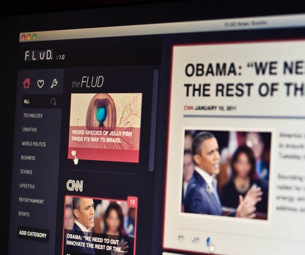 FLUD. Grand iOS news reader launching flood of new features