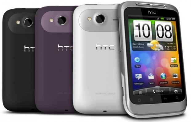 HTC Wildfire S 620x395 HTCs Android Favourites Upgraded: Introducing The Desire S, Wildfire S and Incredible S