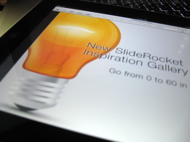 "SlideRocket releases a host of free design resources to help ""Say No to PowerPoint"""