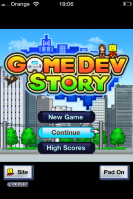IMG 1760 260x390 App Store Classics: Game Dev Story, a game about making games.