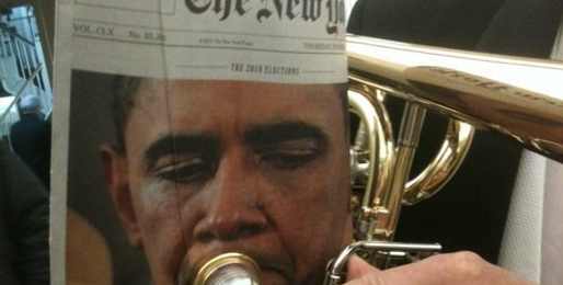 Obama the Trumpetist