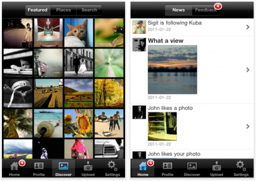 Picture 18 520x369 Zaplife: A beautiful photo blogging iPhone app with a social twist