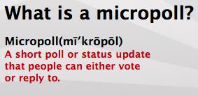 MicroPoll