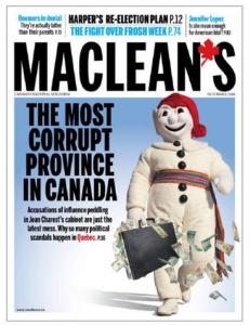 Maclean's cover
