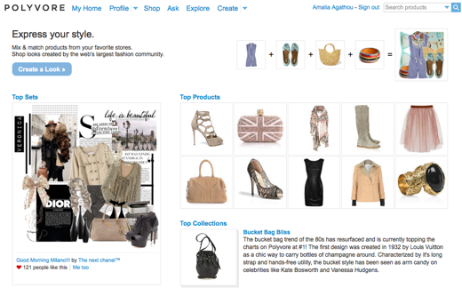 The Rise Of Polyvore: Trendsetting Goes Social.