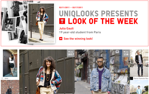 Picture 72 Uniqlo innovates again, using Facebook Likes to spot top fashion