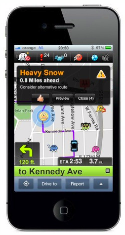 Picture 8 Waze launches real time voice alerts to help drivers avoid hazardous roads