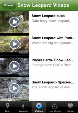 Pocket Zoo for iPhone Videos e1296842791303 260x375 Pocket Zoo for iPhone.  An app anyone will go ape for
