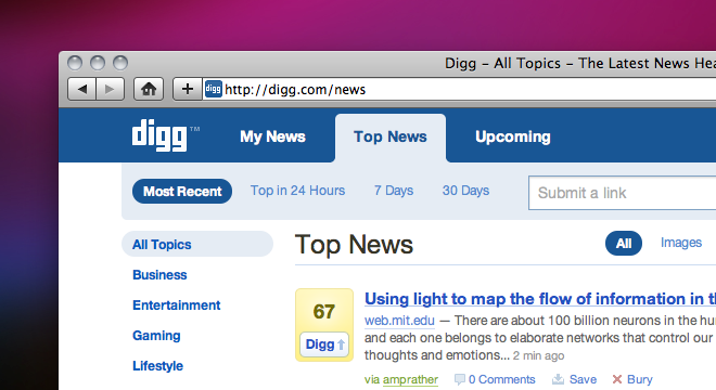 New features and a new design come to Digg. No, for real this time.