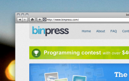 Screen shot 2011 02 03 at 9.29.51 AM 260x164 binpress: A marketplace for code and a $40k prize for the best of it