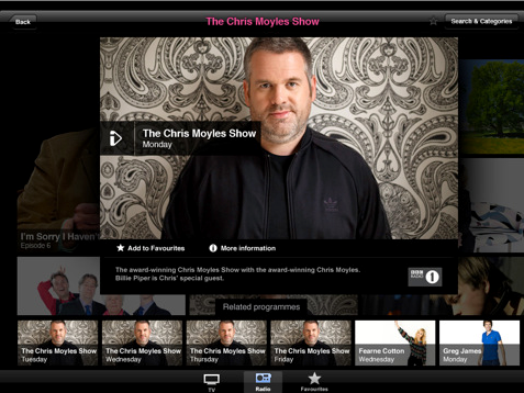 Screen shot 2011 02 09 at 7.11.13 PM BBCs iPlayer now available in the UK App Store