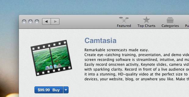 Camtasia for Mac comes to the App Store and we're giving it away [Promo Codes]