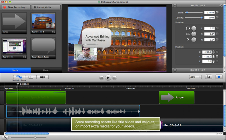 Screen shot 2011 02 10 at 4.27.47 PM Camtasia for Mac comes to the App Store and were giving it away [Promo Codes]