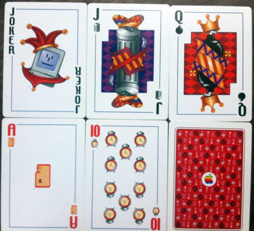 Screen shot 2011 02 21 at 11.20.56 Ultra rare official Apple playing cards emerge on eBay