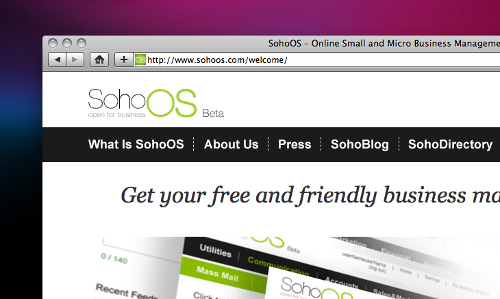 Can a single site handle all of your SMB management needs? SohoOS just might.