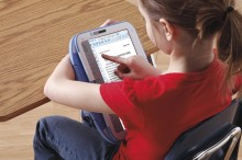 SummitPeak FingernailTouch 0014 220x146 Can a rubberized, tablet convertible laptop survive your children?