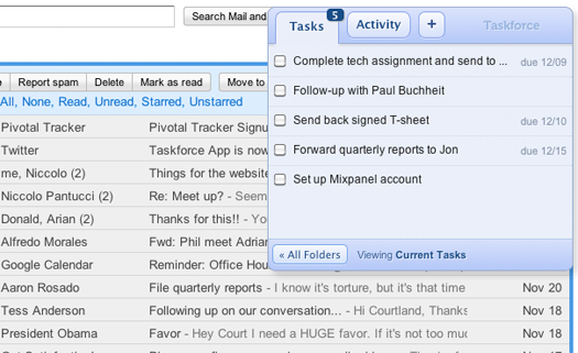 TF2 In depth with Taskforce for Gmail: Inbox organization made easy