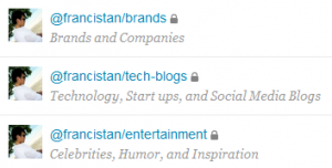 Twitter francistans Lists 300x152 8 Features Twitter.com Should Have