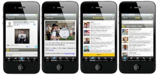 army apps macbook 520x247 New smartphone app helps US soldiers blog on the go