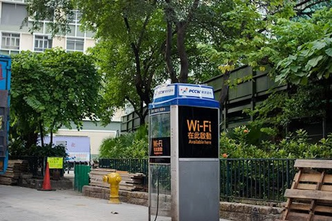China to expand WiFi hotspots by converting phone booths